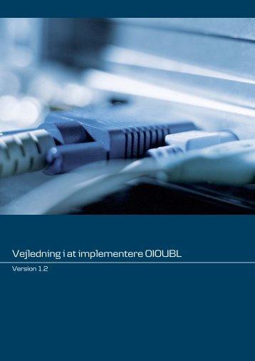 Download Vejledning i at implementere OIOUBL - Danske Bank