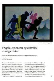 Frygtløse pionerer og abstrakte avantgardister