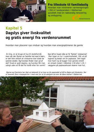 Kapitel 5 Dagslys giver livskvalitet og gratis energi ... - Energitjenesten
