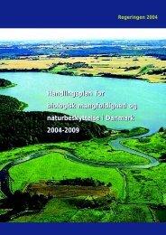 Handlingsplan for biologisk mangfoldighed og ... - Naturstyrelsen