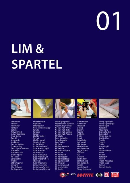 LIM & SPARTEL - C. Flauenskjold A/S