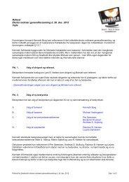 Referat fra ekstraordinær generalforsamling d. 28 ... - deafbold