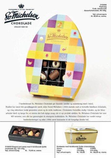 I familiefirmaet Sv. Michelsen Chokolade går klassiske ... - Brandworkz