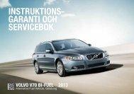 Ladda ned V70 Bi-Fuel instruktionsbok - Volvo