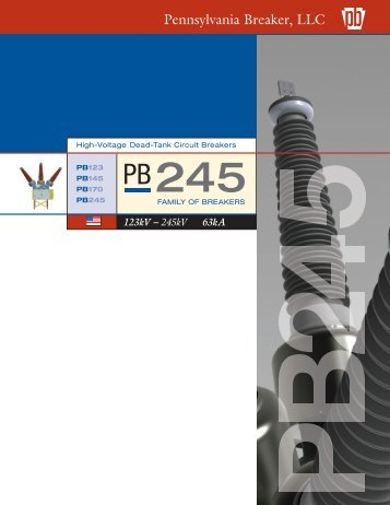 pb245 spec sheet pdf - Pennsylvania Breaker, LLC