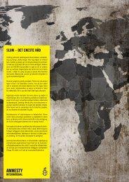 Plakatkampagne Amnesty - Jens Munch
