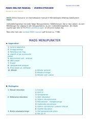 Udskriftsvenlig udgave - mads online manual