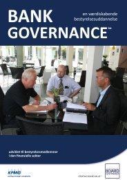 en værdiskabende bestyrelsesuddannelse - board governance