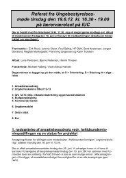 Referat 2012-06-19 - Ikast kommunale ungdomsskole