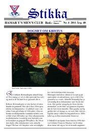 Stikka 4 2011 - Hamar Y's Men's Club