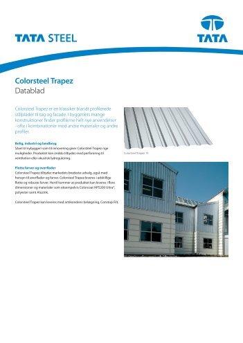 Colorsteel Trapez brochure - Velkommen til Tata Steel