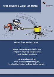 SPAR PENGE PÅ MILJØ- OG ENERGI - Teknologisk Institut