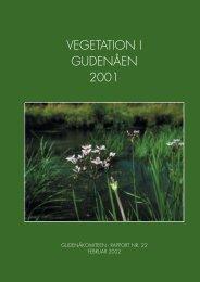 Vegetation i Gudenåen 2001 - Gudenåkomiteen
