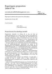Proposition 2006/07:96 - Regeringen