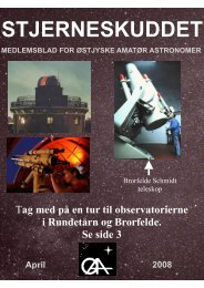 April - Østjyske Amatør Astronomer