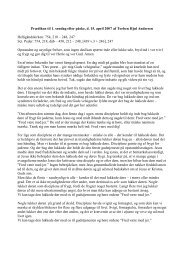 Prædiken til 1. søndag efter påske, d. 15. april ... - Sct. Peders sogn