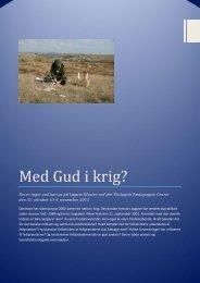 Med Gud i krig? - Webpastor.dk