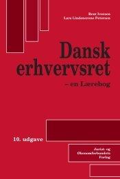 Danske rhvervsret 10. udgave Dansk erhvervsret