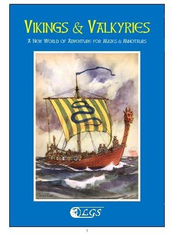Vikings & Valkyries - Mazes & Minotaurs - Free