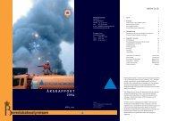 ÅRSRAPPORT 2004 - Beredskabsstyrelsen