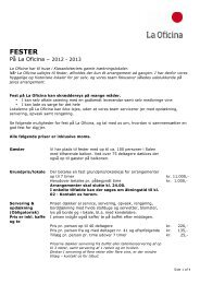 Fester på La Oficina – 2013 (pdf)
