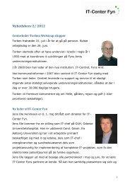 Nyhedsbrev 2/ 2012 - IT-Center Fyn