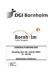 General hæftet 2008 dagsorden OK - DGI Bornholm