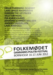 Flyer Folkemødet 2012 - à deux mains film