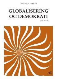 GLOBALISERING OG DEMOKRATI - Civita