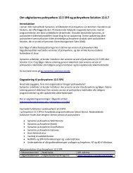 Om udgivelserne pcAnywhere 12.5 SP4 og pcAnywhere ... - Symantec