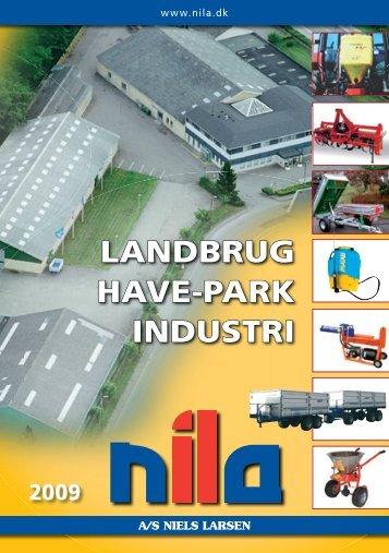 LANDBRUG HAVE-PARK INDUSTRI - A/S Niels Larsen