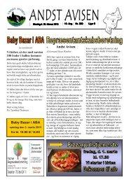 Andst Avisen uge 9 2013
