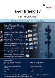 Fremtidens TV Frem tid - Teknologisk Institut