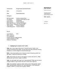 Referat brugerrådsmøde Sønderkærhallen 17. april 2013 - Hvidovre ...