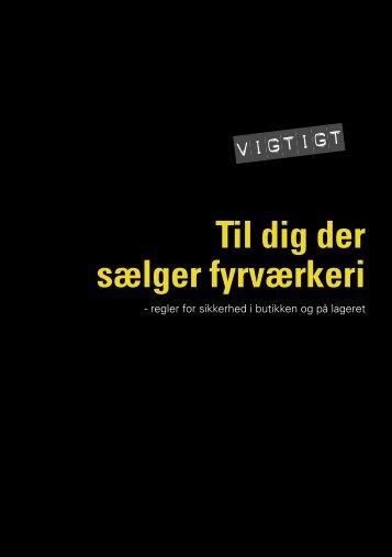 Til dig der sælger fyrværkeri - Fyrværkeri.dk