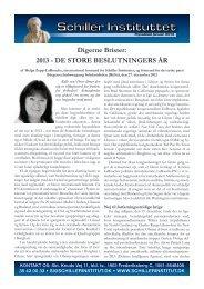Flyvebladet som pdf - Schiller Instituttet