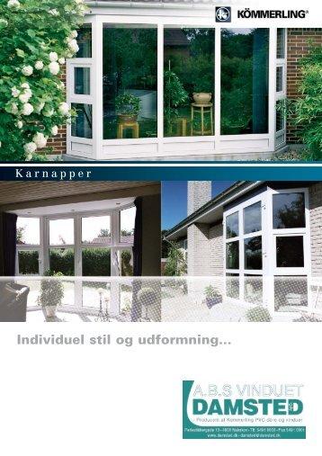 Individuel stil og udformning... - damsted.dk