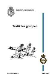 Taktik for gruppen - Hjemmeværnet