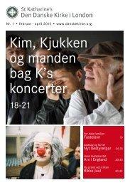 Kim, Kjukken og manden bag K's koncerter - Den Danske Kirke i ...