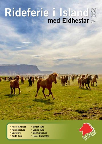 Rideferie i Island - North Travel