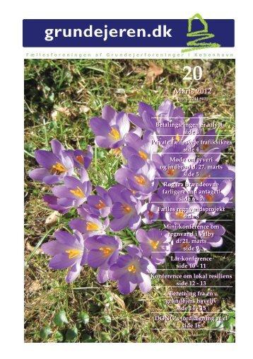 Marts 2012 Marts 2012 - Fællesforeningen af grundejerforeninger i ...