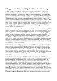 Læs rapporten som PDF fil - Utamaduni