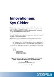 Innovationens Syv Cirkler -pdf - Erhvervsstyrelsen