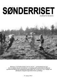 ...lokalblad for Sønderris - Sønderriset