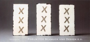 Forum für Schmuck und Design - Andrea Quast