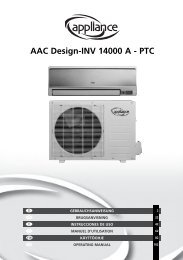 AAC Design-INV 14000 A - PTC - Manual