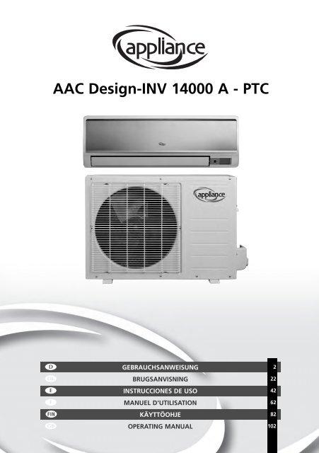 AAC Design-INV 14000 A - PTC - Manual