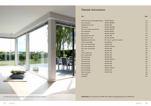 Glazing - Velfac
