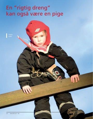 """en """"rigtig dreng"""" kan også være en pige - Danmarks ..."""
