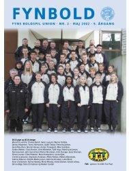 FYNS BOLDSPIL UNION · NR. 2 · MAJ 2002 · 9. ÅRGANG - DBU Fyn